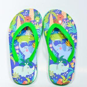 jungle design slippers for kids