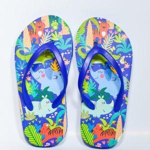 blue slippers for boys