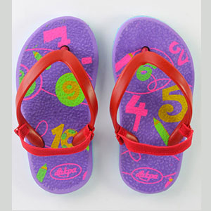 baby slippers with loops