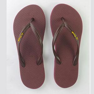 Pink Chocalate flip flops